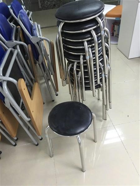Duy Phát thanh lý 30 ghế đôn khung inox tại Hà Nội