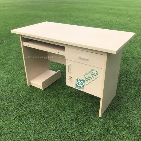 Thanh lý bàn nhân viên văn phòng 1.2×0.6m có hộc & ngăn kéo (BCG600)