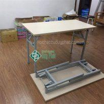 Thanh lý bàn chân sắt gấp văn phòng mới 100% giá rẻ (BCSG500)