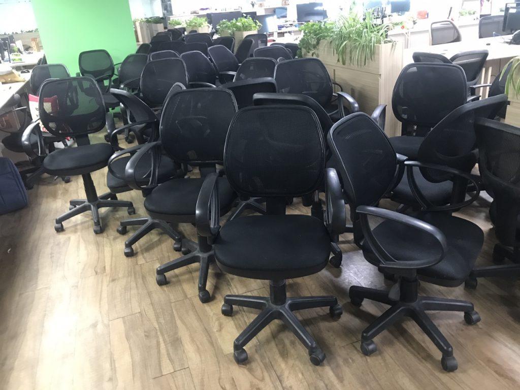 Lô 200 ghế xoay lưới nội thất 190 thanh lý