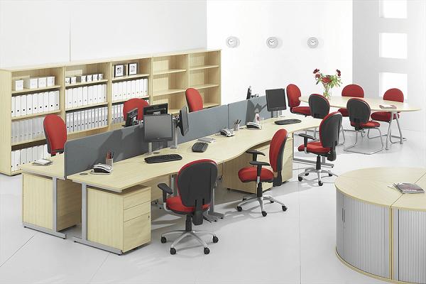 Tư vấn cách sắp xếp bàn ghế văn phòng thông minh