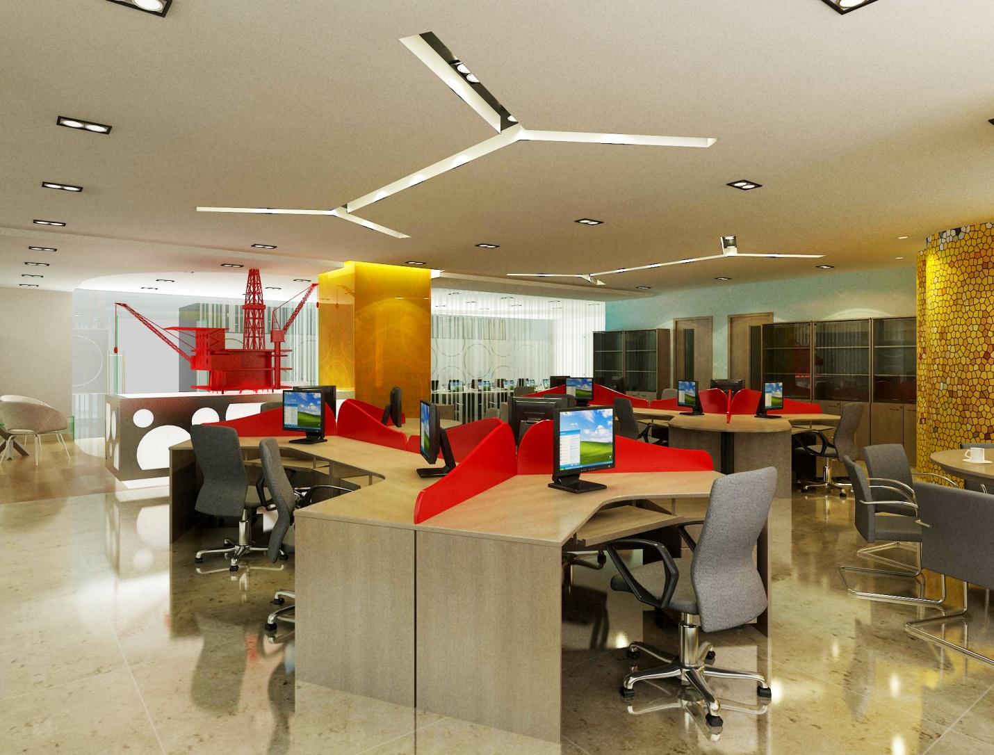 Tư Vấn thiết kế nội thất văn phòng hiện đại đẹp nhất 2019