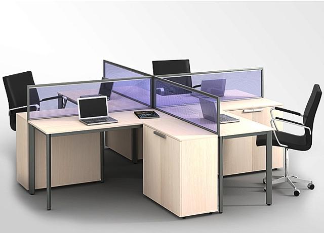 Có nên làm vách ngăn bàn văn phòng hay không?