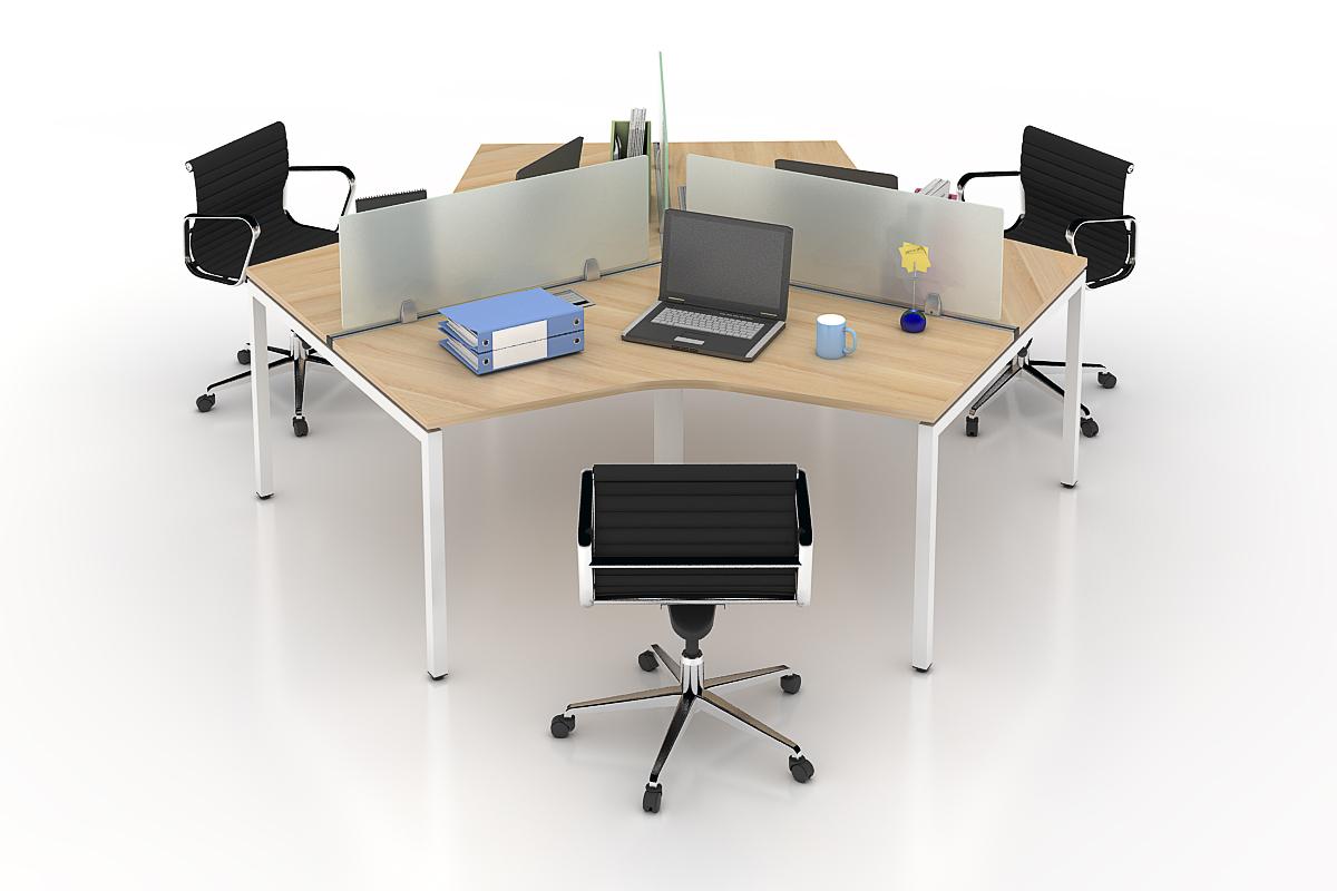 Mẫu vách ngăn bàn văn phòng được nhiều doanh nghiệp sử dụng