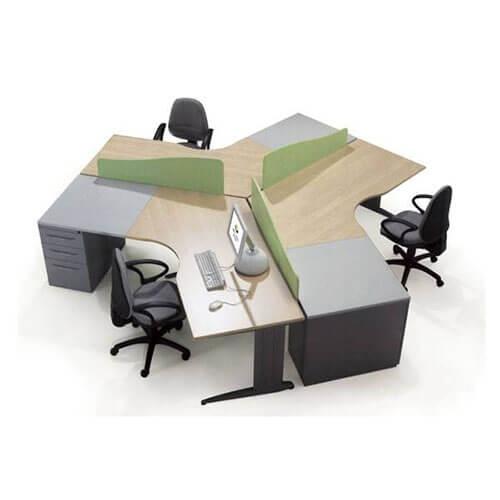 Khoảng cách giữa 2 bàn làm việc của nhân viên chuẩn nhất