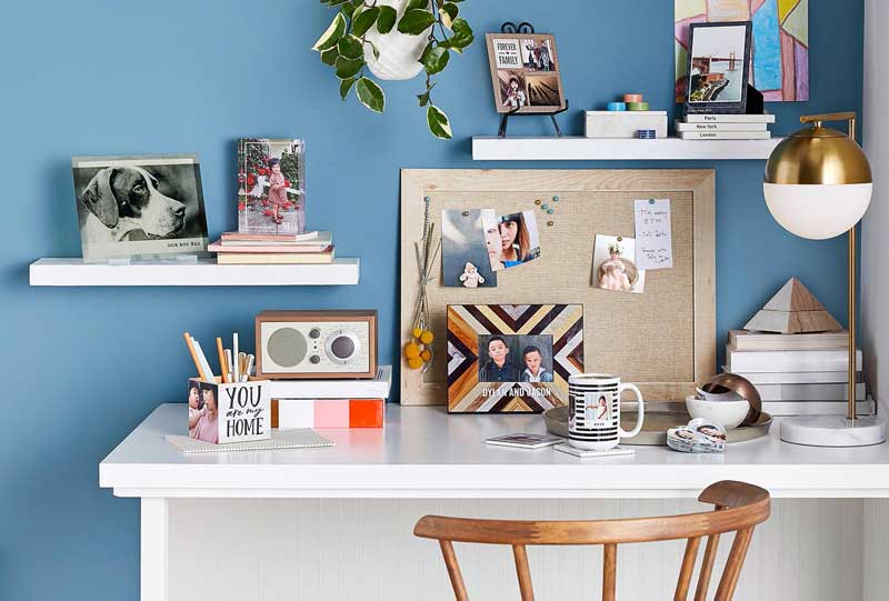 Ý tưởng trang trí bàn làm việc độc đáo đơn giản cho dân văn phòng